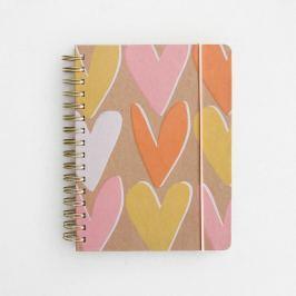Layered Hearts Ultimate Organiser jegyzetfüzet - Caroline Gardner