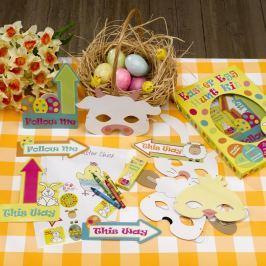 Easter Craft Egg Hunt Kit húsvéti játék papírból - Neviti