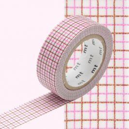 Rosette dekortapasz, hossza 10 m - MT Masking Tape