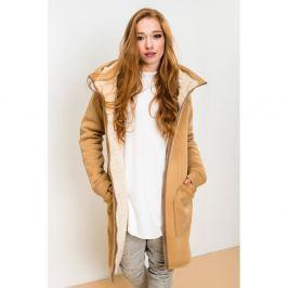 Attitude világosbarna kabát, méret: S - Lull Loungewear