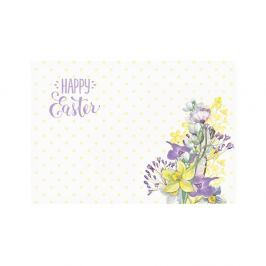 Happy Easter Field Flowers 2 darab teríték alátét, 33 x 45 cm - Apolena