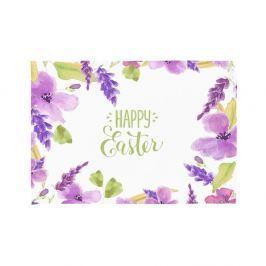 Happy Easter Flowers 2 darab teríték alátét, 33 x 45 cm - Apolena