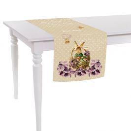 Easter Post Card asztali futó, 40 x 140 cm - Apolena