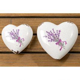Lova szívalakú dekoráció, 2 db - Boltze