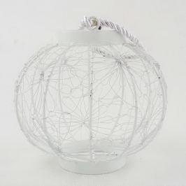 Dandelion fehér, fém lámpás