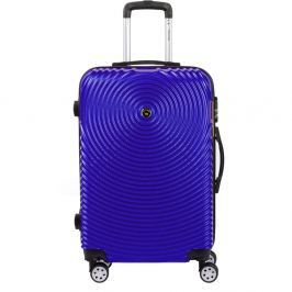 Traveller lila kerekes bőrönd, 65 x 40 cm - Murano