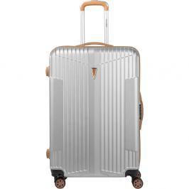 Europa fehér kerekes bőrönd - Murano