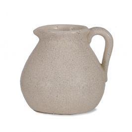 Ravello fehér kancsó alakú váza, 3,8 l - Garden Trading