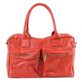 Loira piros bőr táska - Chicca Borse