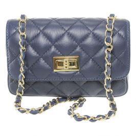 Cee Cee kék bőr boríték táska - Chicca Borse