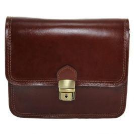 Blanch barna bőr boríték táska - Chicca Borse