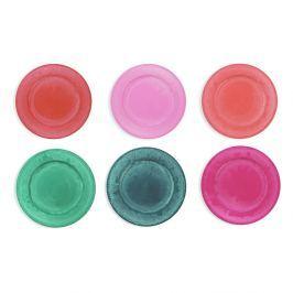 Maraja 6 darabos színes tányér készlet, Ø 33 cm - Villa d'Este