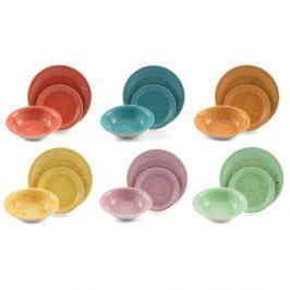 Spray 18 részes színes étkészlet - Villa d'Este