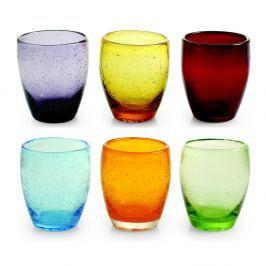 Rainbow 6 darabos színes pohár készlet, 280 ml - Villa d'Este