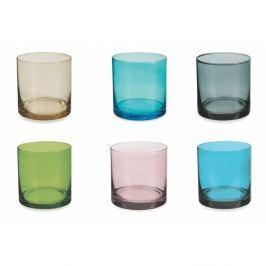 Cromie 6 darabos színes vizespohár készlet, 330 ml - Villa d'Este