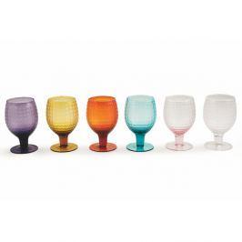 Karma 6 darabos színes borospohár készlet, 300 ml - Villa d'Este