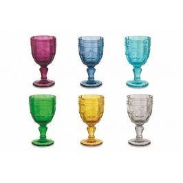 Syrah 6 darabos színes borospohár készlet, 235 ml - Villa d'Este