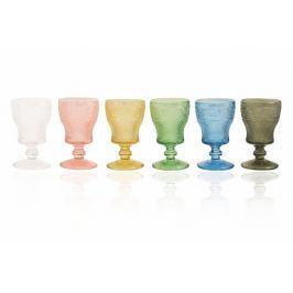 Prisma Calici 6 darabos színes borospohár készlet, 260 ml - Villa d'Este