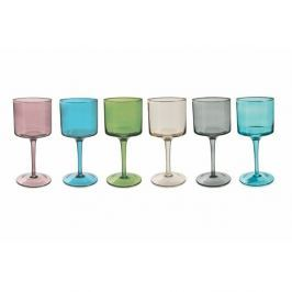 Cromie 6 darabos színes borospohár készlet, 450 ml - Villa d'Este