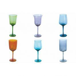 Cromia Calici 6 darabos színes borospohár készlet, 420 ml - Villa d'Este