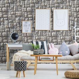 Pyrenees Stone dekoratív falimatrica, 40 x 40 cm - Ambiance