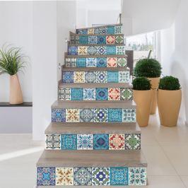 Battista 2 részes matricaszett lépcsőre, 105 x 15 cm - Ambiance