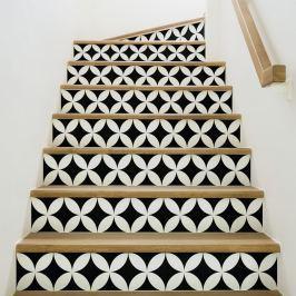 Alvaro 2 részes matricaszett lépcsőre, 105 x 15 cm - Ambiance