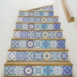 Romina 2 részes matricaszett lépcsőre, 105 x 15 cm - Ambiance