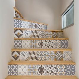 Sober 2 részes matricaszett lépcsőre, 105 x 15 cm - Ambiance