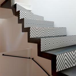 Thora 2 részes matricaszett lépcsőre, 105 x 15 cm - Ambiance