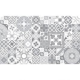 Shades of Grey 60 részes dekoratív falimatrica szett, 10 x 10 cm - Ambiance