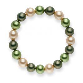 Mystic zöld gyöngy karkötő, hossz 19 cm - Pearls of London