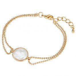 Karkötő lapos gyönggyel, hossz 17 cm - Pearls of London