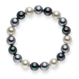 Brigitte Dark gyöngy karkötő, hossz 19 cm - Nova Pearls Copenhagen
