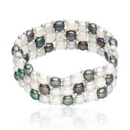 Olla gyöngy karkötő, hossz 19 cm - Nova Pearls Copenhagen