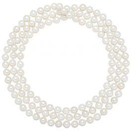 Muschel nyaklánc fehér gyönggyel, ⌀ 0,6 x hossz 90 cm - Perldesse