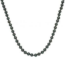 Fehér gyöngy nyaklánc, ⌀ 0,8 x hossz 45 cm - Perldesse