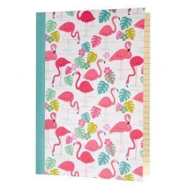 Flamingo Bay jegyzetfüzet, A5, 60 oldalas - Rex London