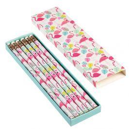 Flamingo Bay ceruzakészlet dobozban, 6 darabos - Rex London