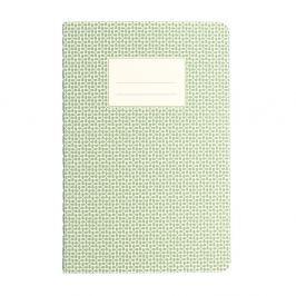 Green Abstract jegyzetfüzet, A5 - Rex London