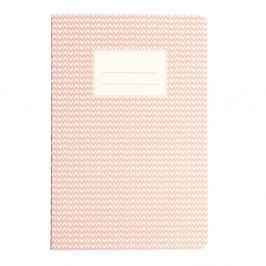 Abstract rózsaszín füzet, A5 - Rex London
