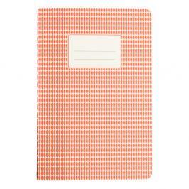Abstract narancssárga füzet, A5 - Rex London