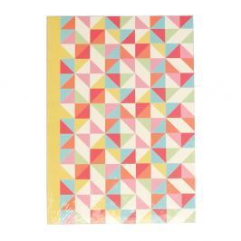Multicolour Geometric jegyzetfüzet, A5 - Rex London