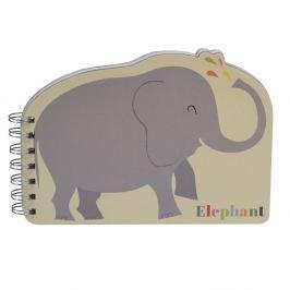 Animals elefántos jegyzetfüzet - Rex London