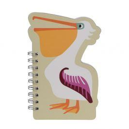 Fred the Pelican jegyzettömb - Rex London