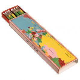 World Map ceruzakészlet dobozban, 6 darabos - Rex London