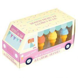 Ice Cream radírkészlet, 6 darabos - Rex London