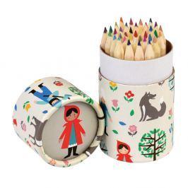 Red rITEM_IDing Hood színes ceruzakészlet, 36 darabos - Rex London