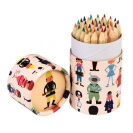 World Of Work színes ceruzakészlet, 36 darabos - Rex London