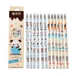 Choco Panda ceruzakészlet, 12 darabos - Rex London